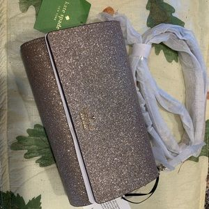 Kate Spade Holiday/evening glitter small purse